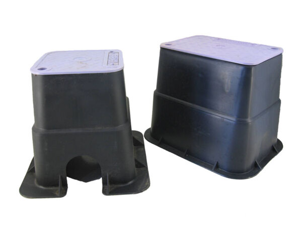 Valve boxes 150 x 150 (with Lilac lid)Product Photo