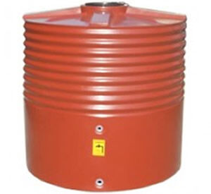 Home/Light Duty Corrugated Round Squat Water Tank - 1,400 Litre Product Photo