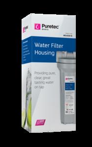 "Puretec Filter Housing Kit 10"" x 2.5"""
