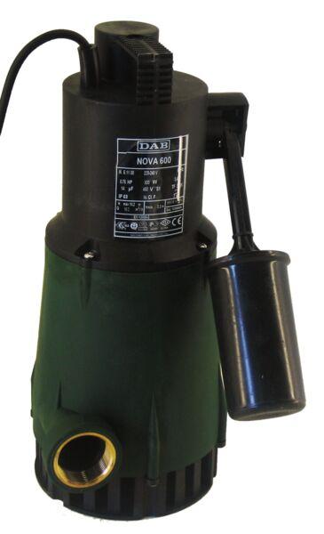 DAB Nova 600 Submersible Pump (Sump Pump) Product Photo