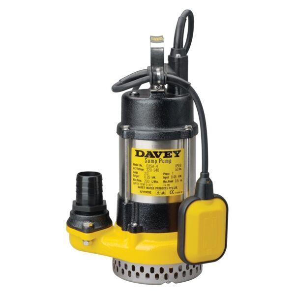 Davey Pump - D25A Submersible Pump (Sump Pump) Product Photo