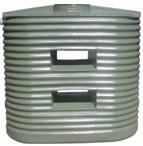 Home/Light Duty Corrugated Slimline Water Tank - 1,250 Litre