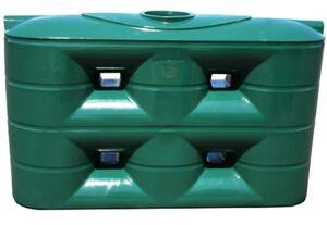 Commercial/Industrial Slimline Water Tank - 4,000 Litre Squat
