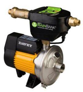 Rainbank with Davey HS50-06 Self priming Multi stage pump