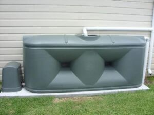 Home/Rural Slimline Water Tank - 2,000 Litre Squat