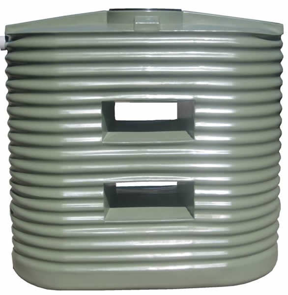 Home/Light Duty Corrugated Slimline Water Tank - 1,250 Litre Product Photo