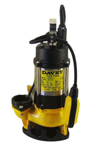 Davey Pump - D40VA Vortex Submersible Pump (Sump Pump) Product Photo