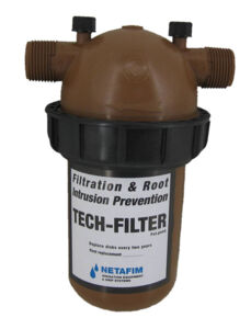 Netafim 25mm Techfilter with cartridge