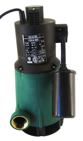 DAB Feka 600 Vortex Submersible Pump (Sump Pump) Product Photo