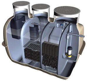 Fuji Clean CE1500 EX Wastewater Treatment System