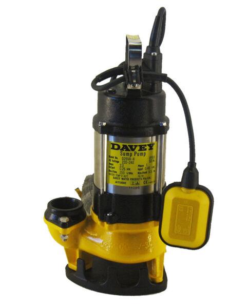 Davey Pump - D25VA Vortex Submersible Pump (Sump Pump) Product Photo