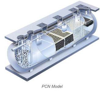 Fuji Clean PCN Commercial Wastewater Treatment System Product Photo