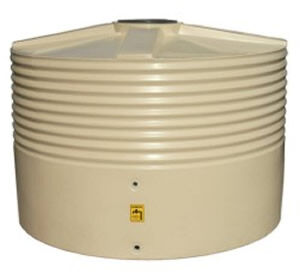 Home/Light Duty Corrugated Round Squat Water Tank - 3,000 Litre Product Photo