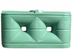 Commercial/Industrial Slimline Water Tank - 1,650 Litre Squat