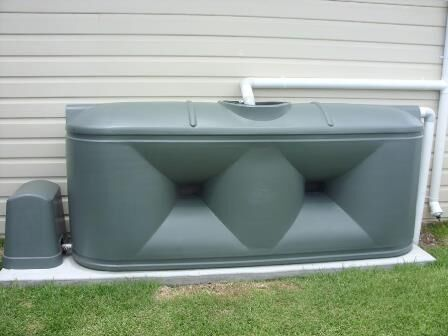 Home/Rural Slimline Water Tank - 2,000 Litre Squat Product Photo